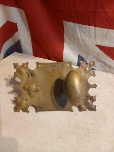 Antique Solid brass Door Lock and handle lock cover