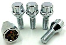 4 x ALLOY WHEEL LOCKING BOLTS FOR AUDI S4,A4 M14X1.5 60 TAPER,NUTS,STUD,LUG,(67)