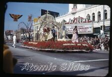 1953  kodachrome Photo slide Academy movie Theatre Pasadena CA rose parade #4