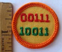 Jade Green Border Multi=1 Ship Error Badge NEW in Girl Scout Jr ART and MEDIA
