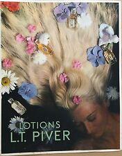 LOTIONS L.T. PIVER AFFICHE