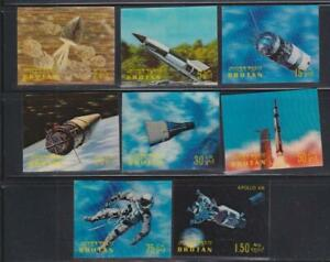 BHUTAN STAMPS 1970 CONQUEST OF SPACE MNH - LANB154