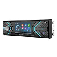 "Power Acoustik Single Din PD-348B CD/DVD/MP3 Player 3.4"" LCD Display Bluetooth"