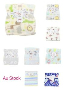 Cozy Life  blanket for baby infant kids coral fleece super soft for winter use