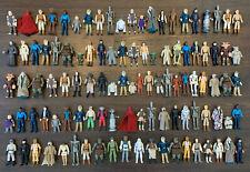 Kenner Star Wars Large Lot of 100+ Figures Guns Cases Luke Leia R2-D2 Vader Fett