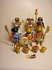 Soldatini Vintage Playmobil Geobra Egiziani Antichi