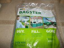 """Bagster Dumpster in a Bag 8' x 4' x 2' 6"""" 3300 lb Max 606 Gallon Cap 3Cuyd - New"""