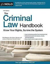 The Criminal Law Handbook: Know Your Rights, Survive the System *(DOWNLOAD/PDF)*
