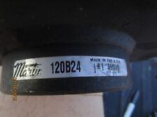 "Martin Sprocket & Gear 120B24 2 3/16"", Reborable Sprocket,120 Chain, 24 Teeth"