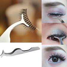 119ed170609 False Fake Eyelash Extension Applicator Tweezers Eye Lash Lashes Cosmetic  Tool