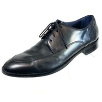 Cole Haan Grand OS Mens Black Leather Dress Shoes  Lace Up Size 11 M