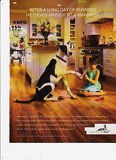 2009 PERGO Great Dane dog magazine ad print art laminate floor SWEDEN wood