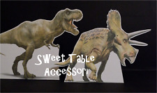 2 Sagome dinosauri sweet table kit festa compleanno party set comunione #2