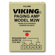 Viking Electronics M2W Paging Power Amp 25Ae Horn Inc.