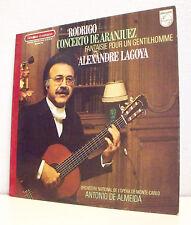 33T Joaquin RODRIGO & Alexandre LAGOYA LP Guitares CONCERTO DE ARANJUEZ -PHILIPS