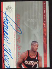 New listing 2000-01 SP Authentic Sign of the Times Jermaine O'Neal