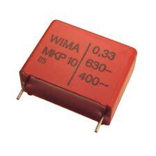 2 WIMA Impulsfester Polypropylen Kondensator MKP10 630V 0,33uF 22,5mm 089744