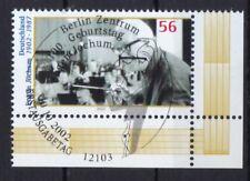 BRD 2002 gestempelt ESST Berlin Eckrand MiNr. 2284  Eugen Jochum