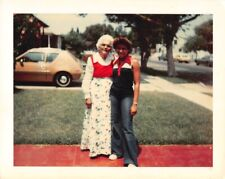 PRETTY WOMAN & GRANDMA FORD PINTO CAR BLACK AFRICAN AMERICAN VTG 1970s PHOTO 197