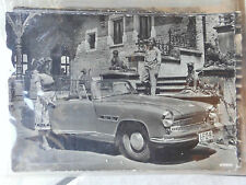 orig. Echtfoto Werbekarte Ansichtskarte Postkarte Wartburg 313 Sportwagen Coupé