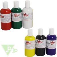 Scolaquip Scola 150ml Bottles Of Permanent Fabric Textile Paint