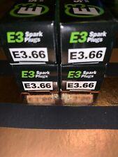 NEW 4-PACK E3 E3.66 DIAMOND FIRE TECHNOLOGY HIGH PERFORMANCE SPARK PLUGS