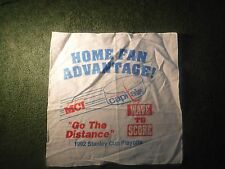 Vintage WASHINGTON CAPITALS 1992 Stanley Cup Playoff Rally Towel SGA 2017