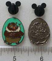 BIG MAMA Fox & The Hound Disney Birds 2014 Hidden Mickey Pin 102275 102278