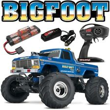 NEW Traxxas BIGFOOT CLASSIC 2WD RTR RC Monster Truck ID Battery & Quick Charger
