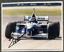 Jacques Villeneuve Signed Photograph