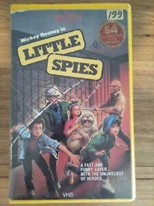 """Little Spies"" Adventure 1986 VHS *Roadshow Home Video* Walt Disney Movie RARE"