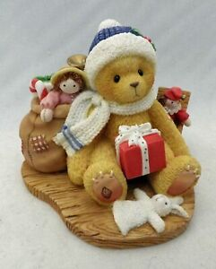 Cherished Teddies - Evan - Christmas and Happiness, p/n 484822 w/box & cert.