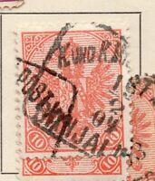 Bosnia Herzegovina 1900-01 Early Issue Fine Used 10h. 233478