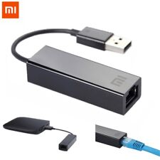 Original Xiaomi USB to RJ45 External Ethernet Card Lan Adapter 10/100Mbps