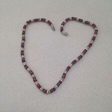 Unisex Hawaiian Coco Bead Necklace 18 inch (Natural, Brown, Rust, Green)