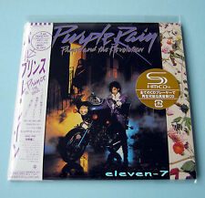 PRINCE Purple Rain JAPAN mini lp CD SHM still sealed & brand new