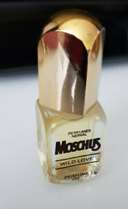 Vintage Nerval Moschus Wild Love 9,5ml Parfum Öl noch voll