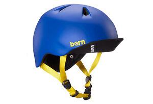 Bern Nino Kinder Jugend Fahrradhelm Skate BMX Action Helm matte Blue XS-S