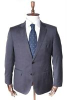 Men's TOMMY HILFIGER Tailored Grey 100% Wool Fitted Guabello Suit Jacket Size 25
