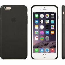 Genuine Official Apple iPhone 6 Plus / 6s Plus Leather Case - Black - MGQX2ZM/A