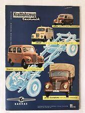 Kraftfahrzeugtechnik KFT 11/1959 Zeitung Sammeln Alt DDR IFA Geburtstag Geschenk