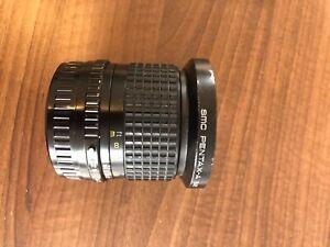 Pentax - A SMC 35mm F3,5 - Objekivanschraubgewinde leicht verbeult