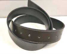 Boucles de ceinture noirs en cuir pour homme