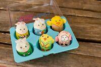 Vintage Knickerbocker Egg Beans Mini Bean Bag Animals
