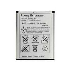 SONY ERICSSON BATTERY ORIGINAL BST-33 BULK FOR W595I,W610I,W660I,W705I,W850I