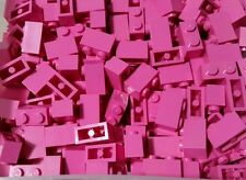 LEGO 10 Bricks Dark Pink 1 x 2