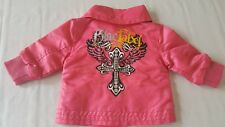 Blac Label Pink Jacket Baby Girl Size 3-6 Months Coat B1