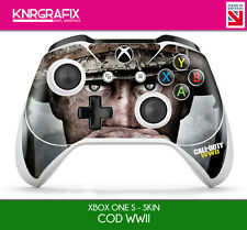 KNR6644 PREMIUM XBOX ONE S CONTROLLER COD WWII CALL OF DUTY WORLD WAR 2 SKIN