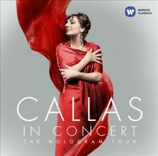 Callas in Concert – The Hologram Tour - CD digipak New & Sealed