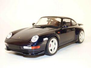 PORSCHE 911 - 993 CARRERA RS bleu Midnight 1/18